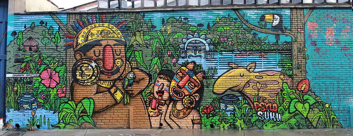 El Dorado Bogota Ciudad Mural 2016 On Wacom Gallery