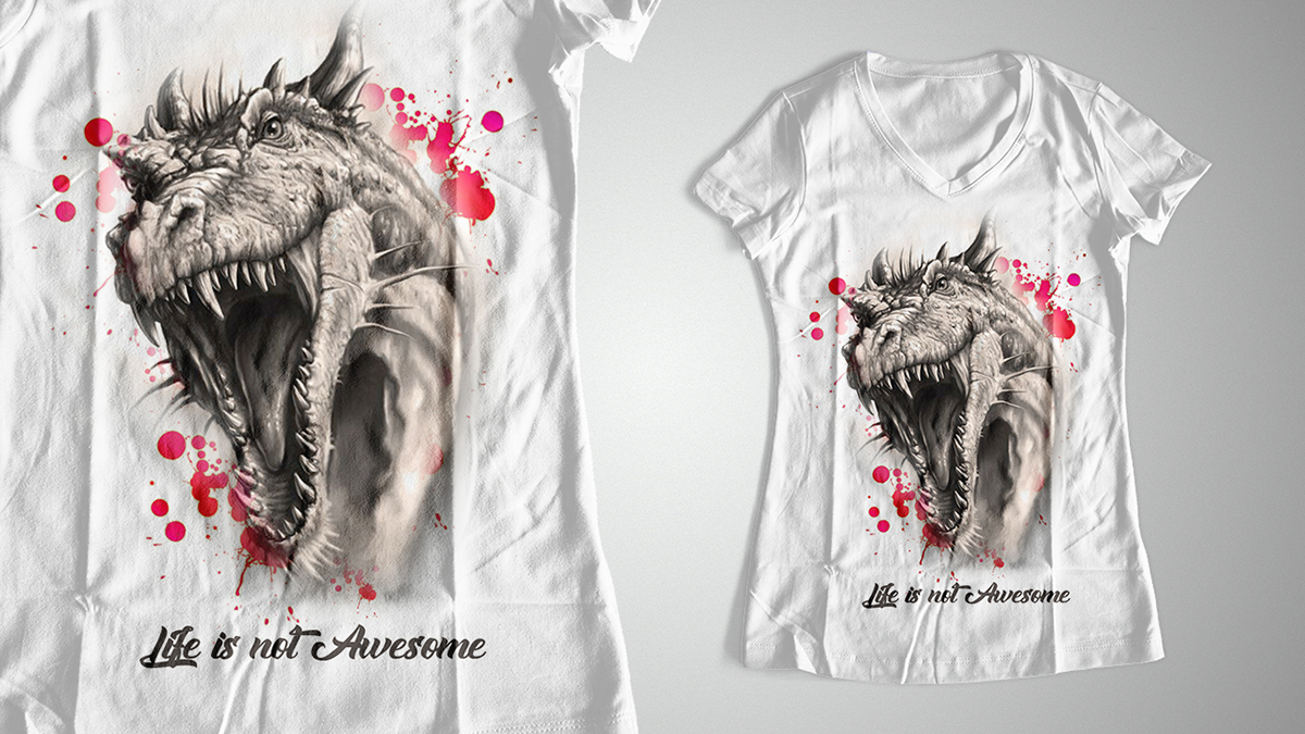 Womens T Shirt Design On Behance