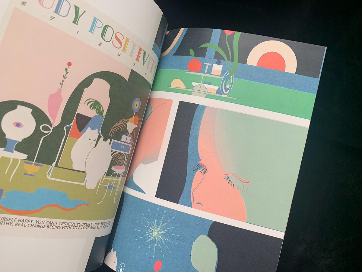 Bookdesign graphicdesign ILLUSTRATION  Zine