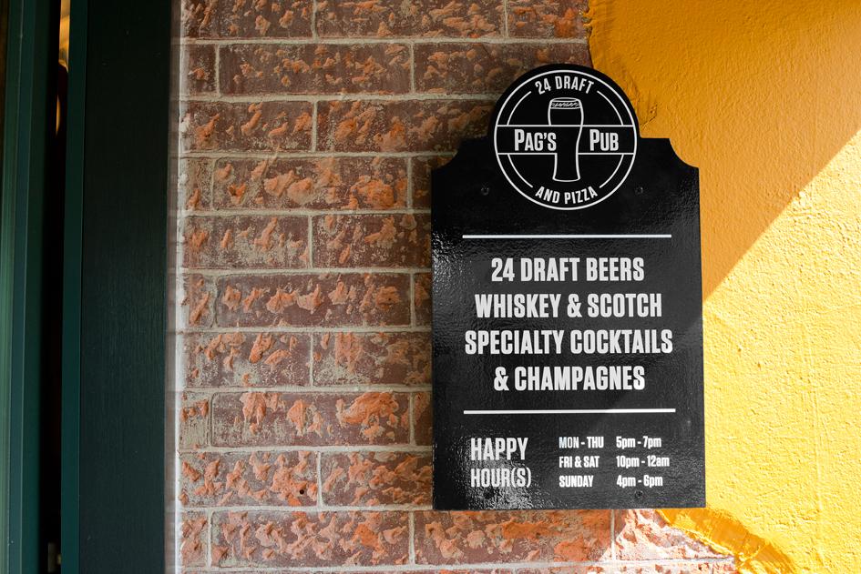 identity pub Whiskey menu design