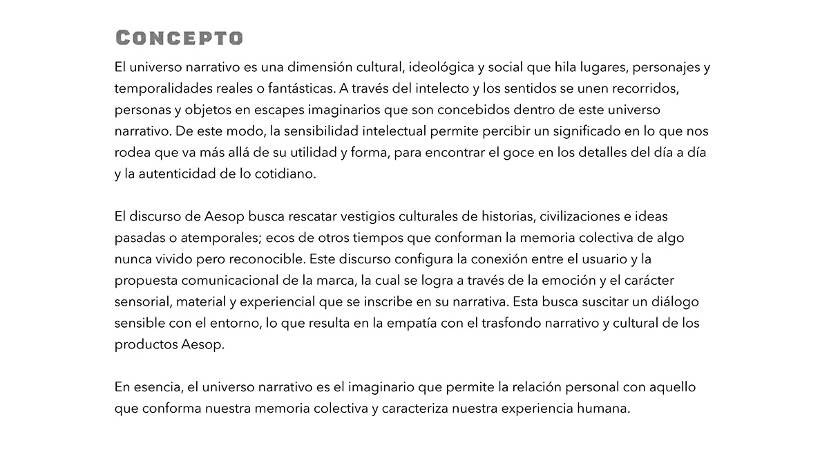 Aesop ArqDisUniandes artifacts branding  Emotional Packaging product SOMOSARQDIS speculative design visual identity
