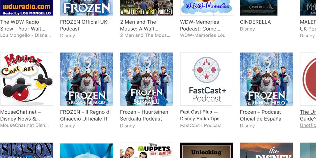 logo podcast disney Travel