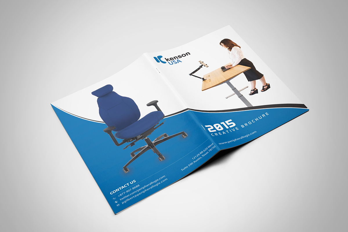 bifold brochure 8 pages on behance