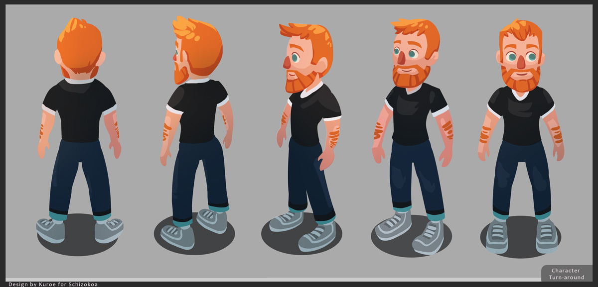 Game jam Character video game casual