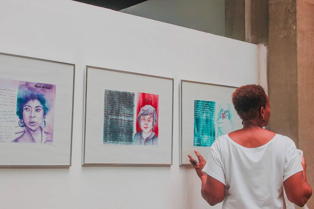 inktober readwomen leiamulheres autoras escritoras virginiawoolf marcador aquarela watercolor