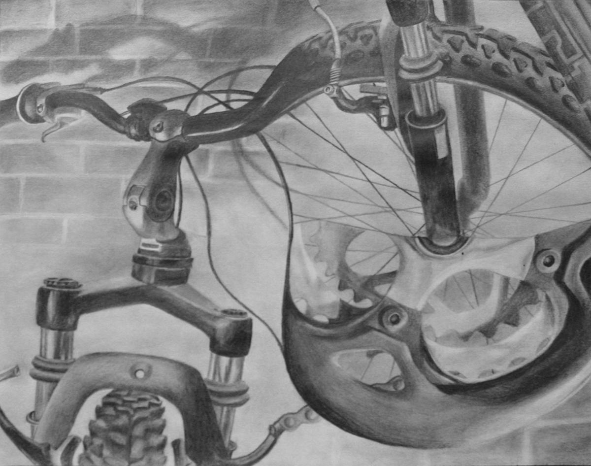 Risd Home Test Bike Drawing On Risd Portfolios