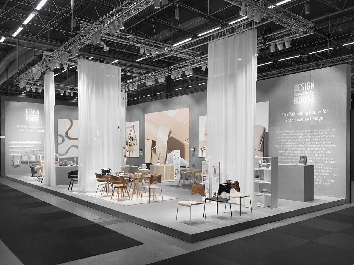 Custom Exhibition Stand Jobs : Design house stockholm furniture fair on