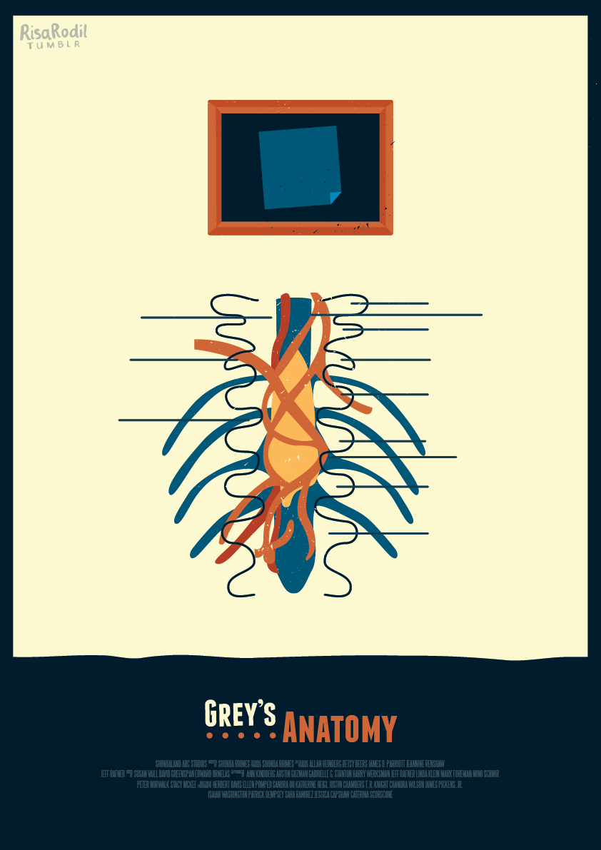 Grey\'s Anatomy Episode Posters on Behance