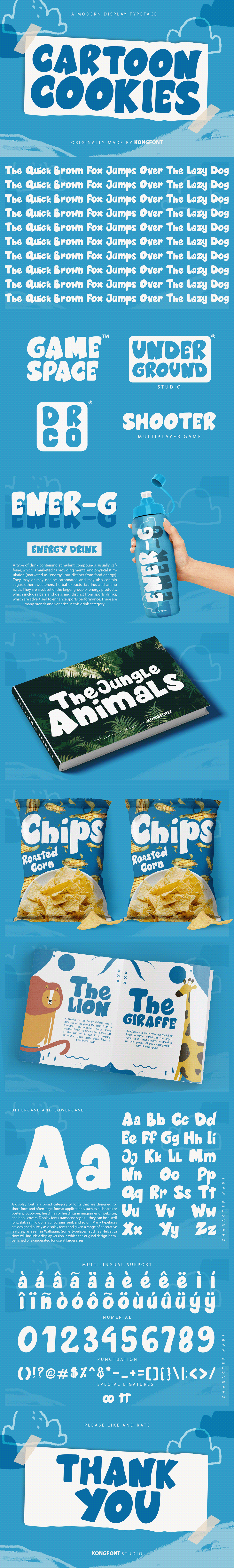 Birthday branding  cartoon cookies cute Display font font design fonts Invitation kids