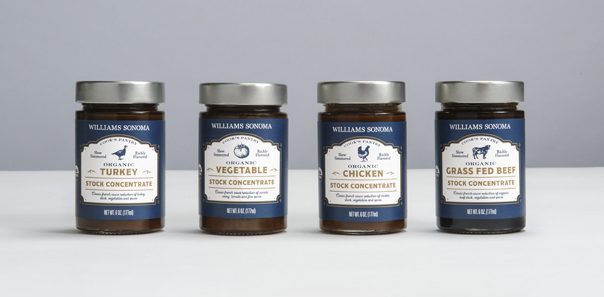 Packaging labels french-style