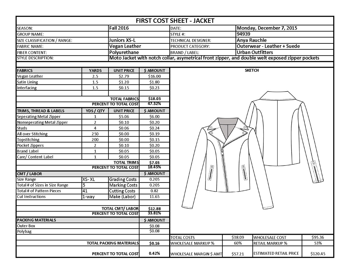 Leather jacket cost - Thank You