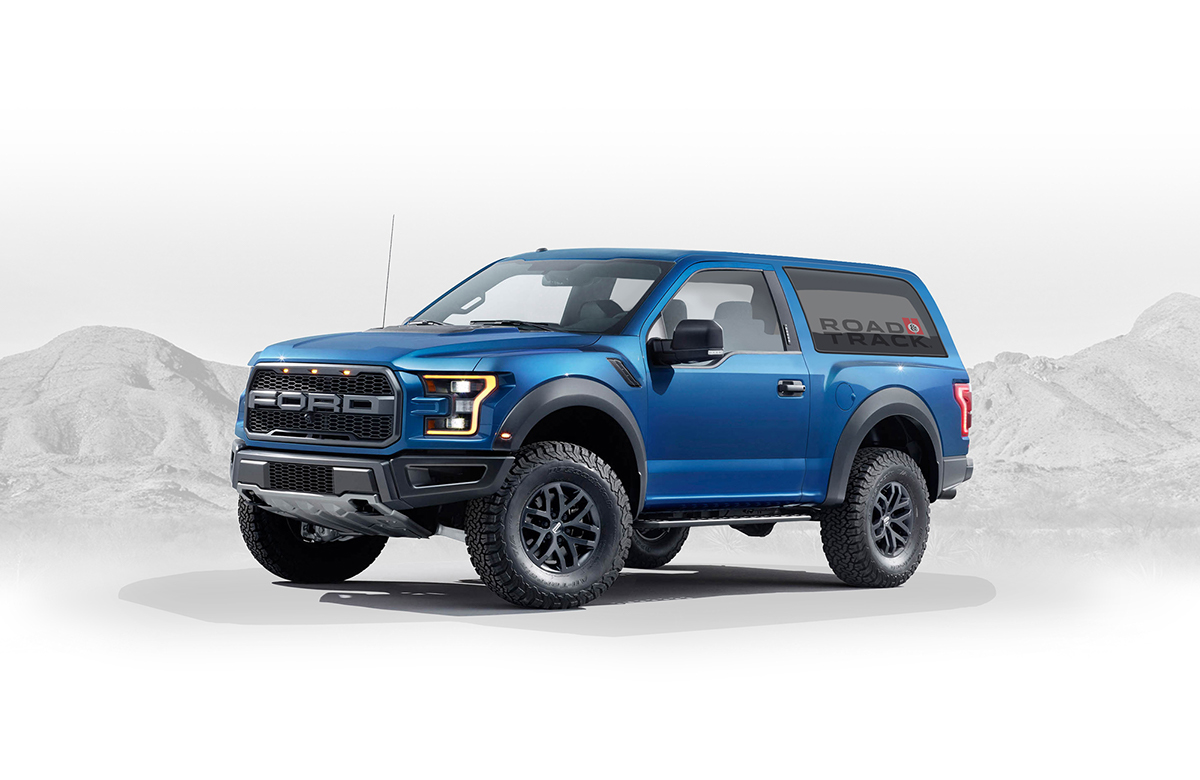 2020 Ford Bronco Concept On Behance