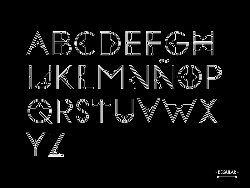 Typeface font metropolis esdir type Free font free type Display free typeface free