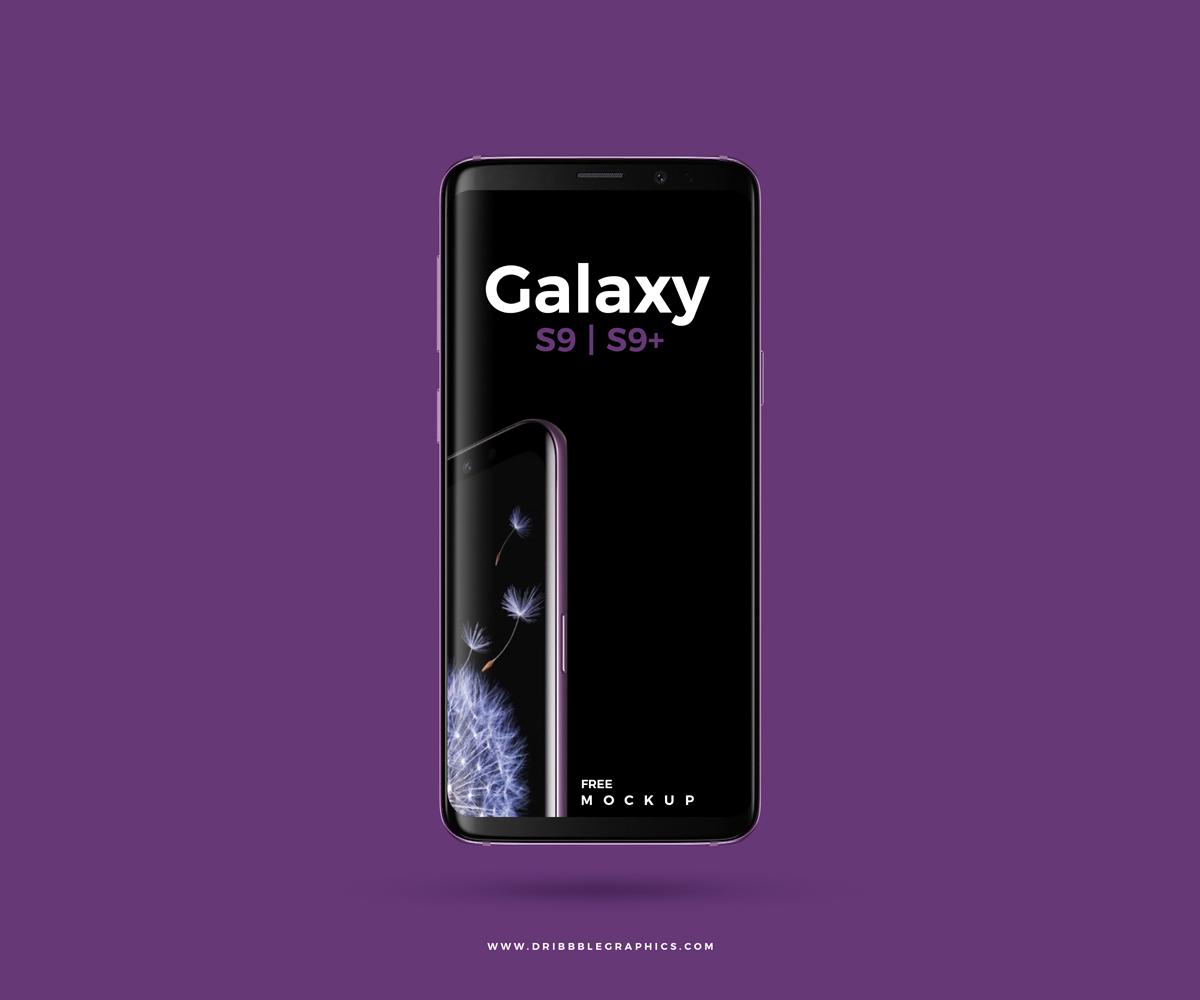 Samsung samsung galaxy s9 Samsung Galaxy S9+ Mockup free mockup  UI ux freebie Web app