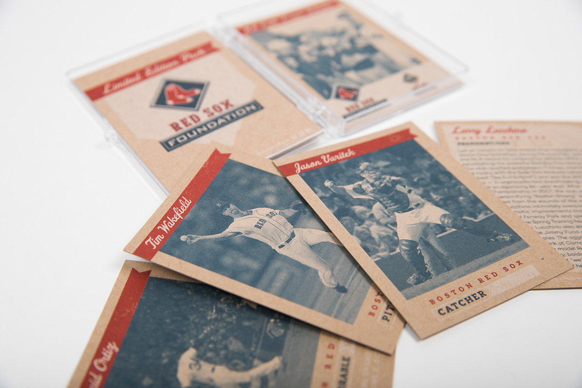 boston Event fenway Gala Invitation red sox red sox foundation vintage