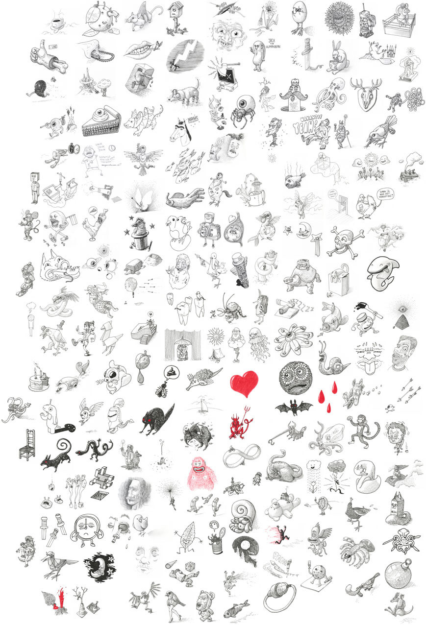 Image may contain: drawing, illustration and cartoon