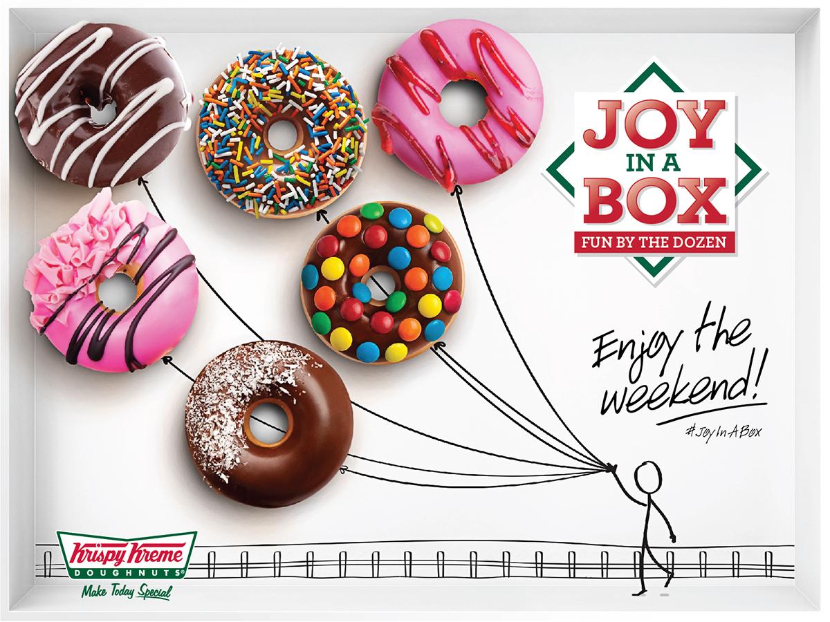 Krispy Kreme - Joy in a Box on Behance
