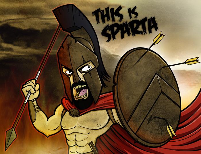 Картинки спартанцев приколы