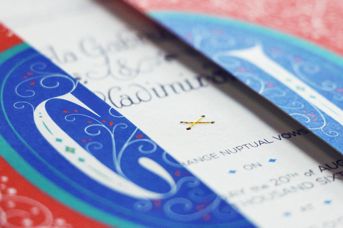Spanish Wedding Invitation On Aiga Member Gallery