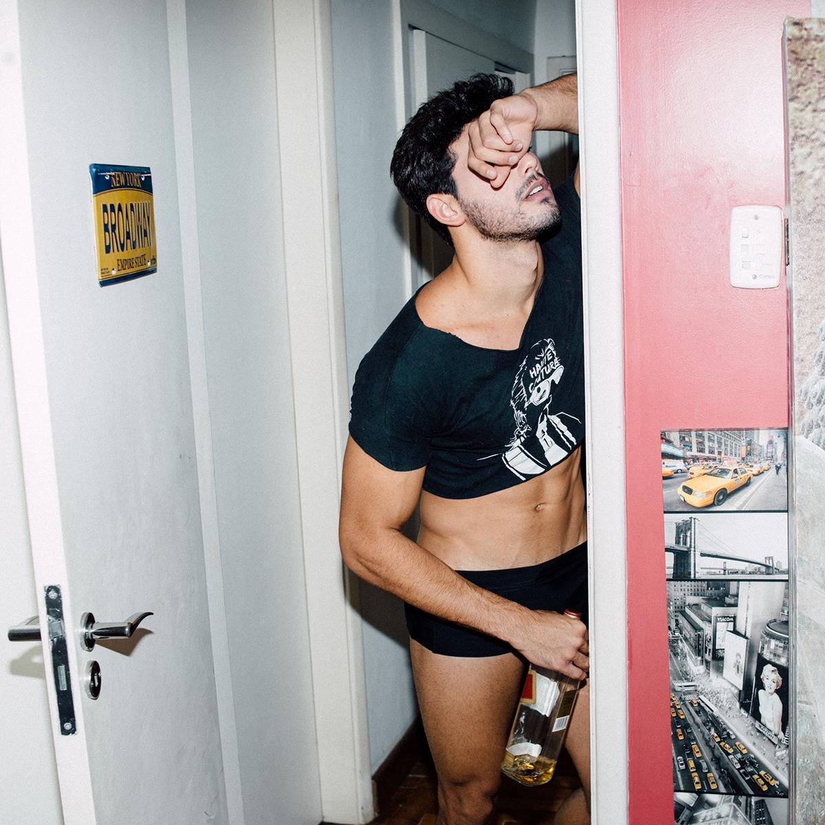 Fashion  moda male model male model terry richardson terry richardson technique Flash cropped