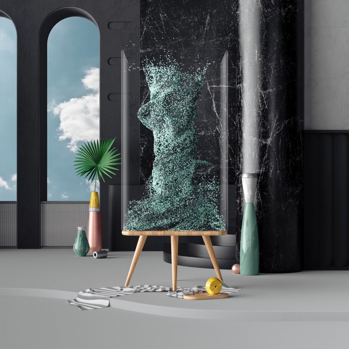 3D ILLUSTRATION  animation  Render krol mateusz CGI