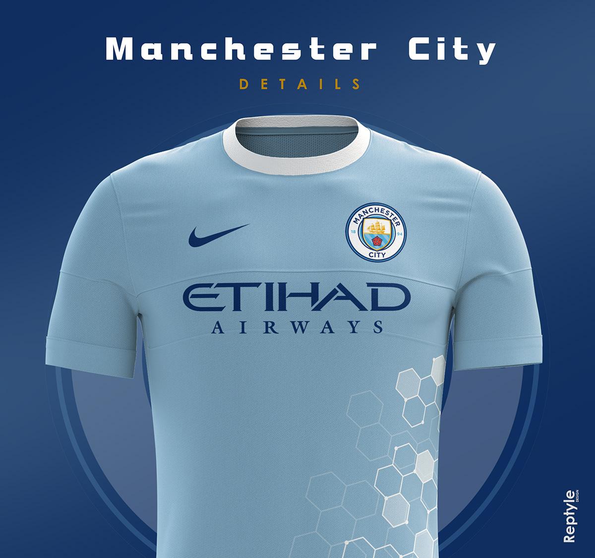 Manchester City soccer kit concept on Behance a29694190