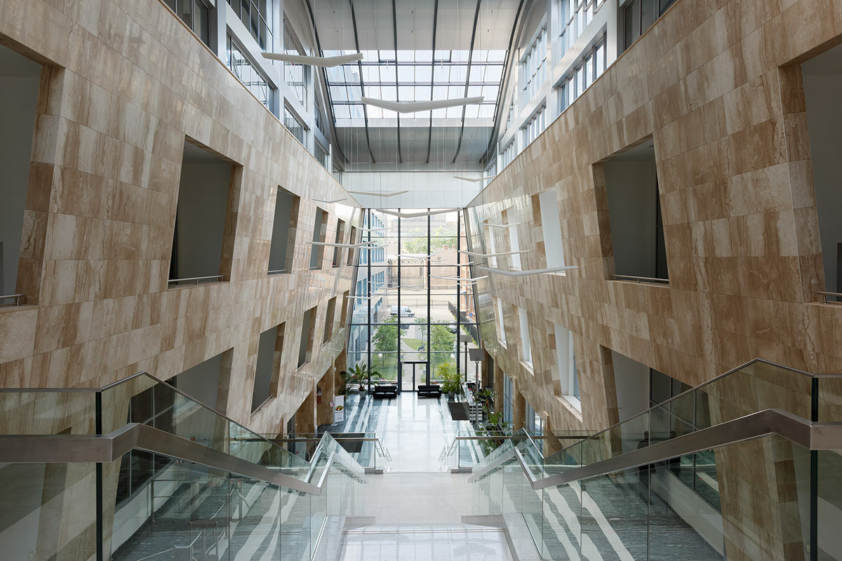 Business Center public space