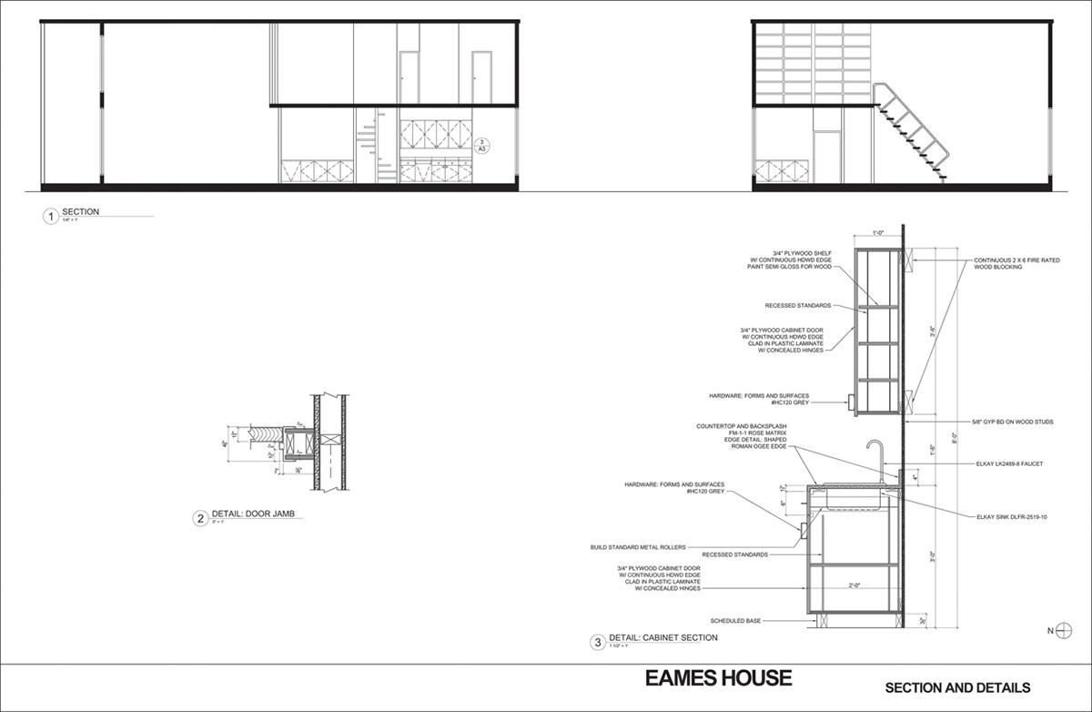 Eames House - Case Study on Behance