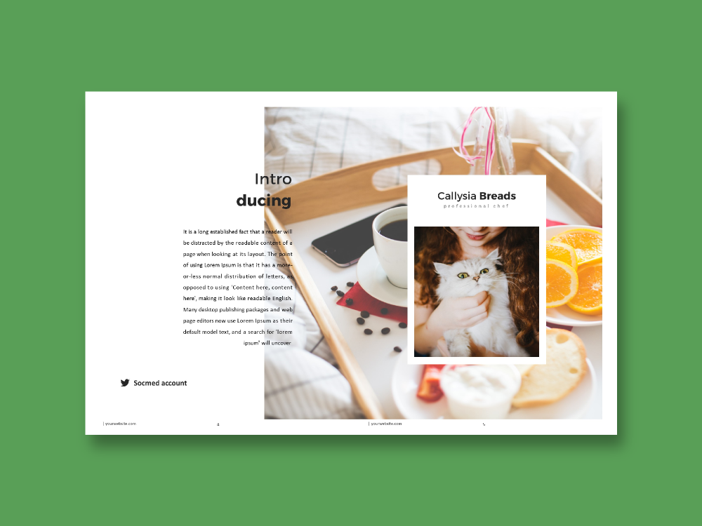 recipe book microsoft publisher template on behance