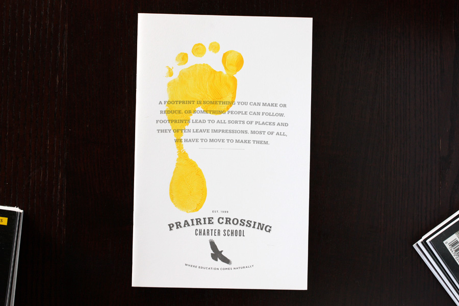 Corporate Identity Brand Development logo guidelines brochure green handmade