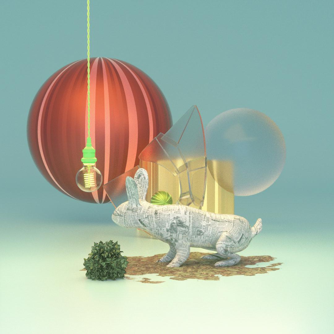 3D 3d animation c4d cinema 4d concept design motion design motion designer Octane Render otoy Particle Animation