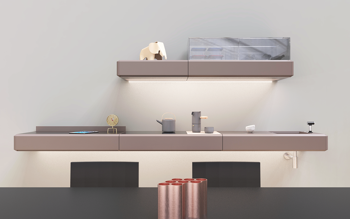 Rigo - wall system for living in the future on Wacom Gallery