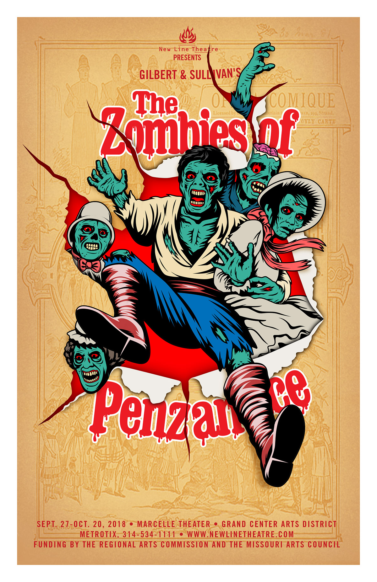 zombies theater  Musical