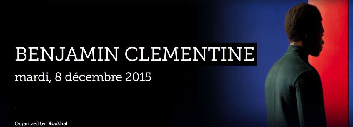 concert live benjamin Clementine luxembourg rockhal soul photo