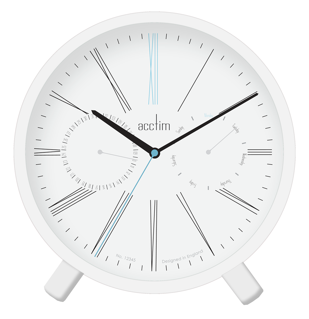 Product Deign Sketch Clock Collection Acctim On Behance