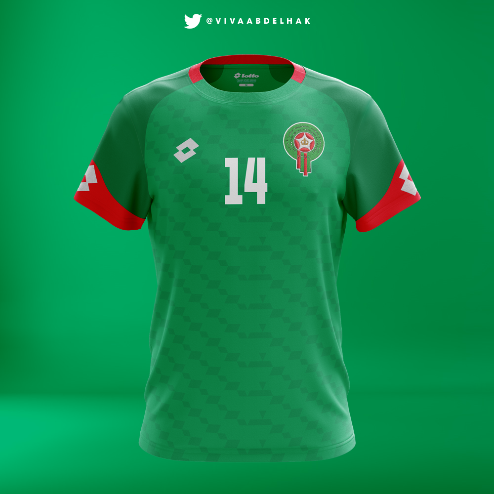 Concept On SportsMorocco Kits Behance Lotto m0N8wvnO