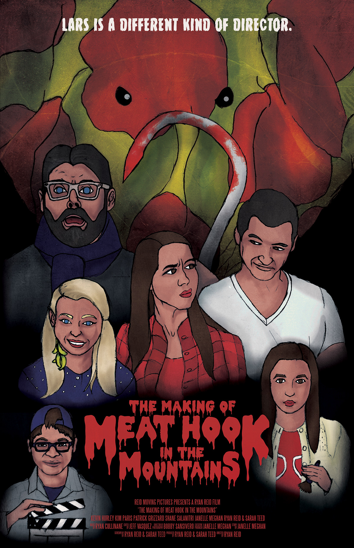 The Making of Meat Hook in the Mountains - Movie Poster on