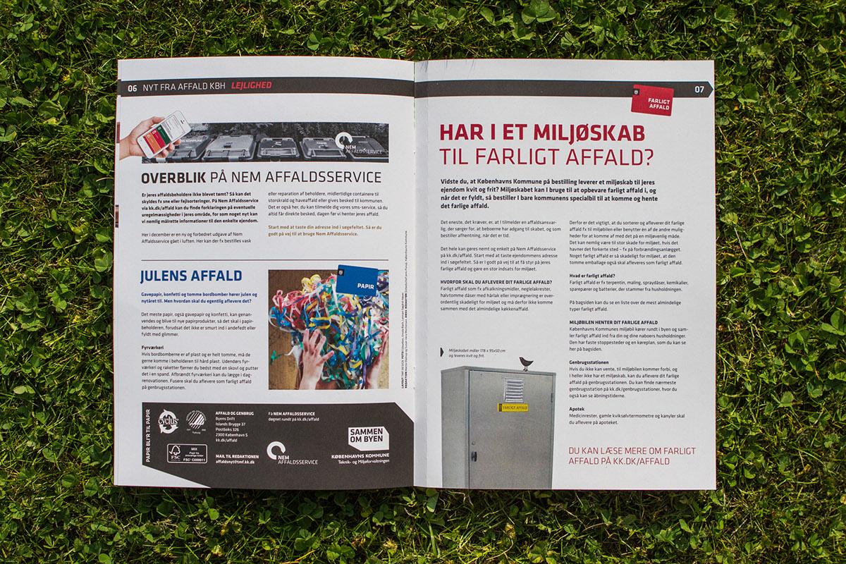 Affaldsservice affald kbh on behance