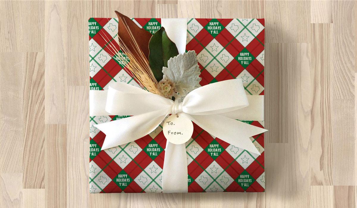 H-E-B Seasonal Wrapping Paper on Behance