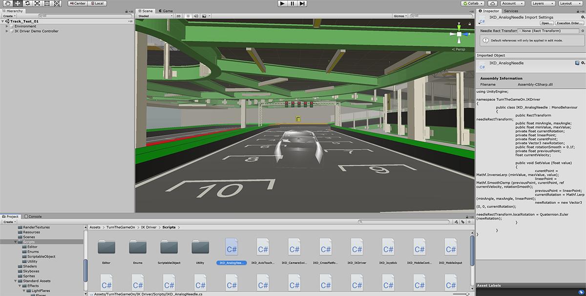 Test Track VR on Behance