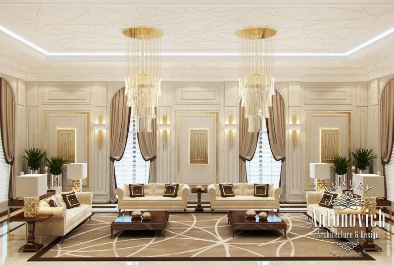 Arabic Majlis From Luxury Antonovich Design On Behance Custom Arabic Majlis Interior Design