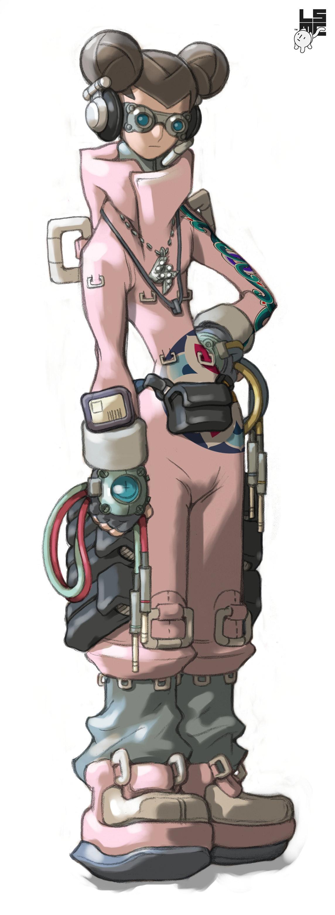 animation  Korea 2D Animation action artwork Character design  concept design future SF songoku