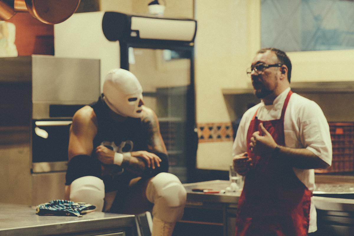 Cocina para Luchadores Lucha Libre Mexicana mexico Pocho Garces @cocinaylucha Luis Cobelo Inti Acevedo Enrique luque ciudad de Pablo E. Peña P. medico asesino Diva Salvaje