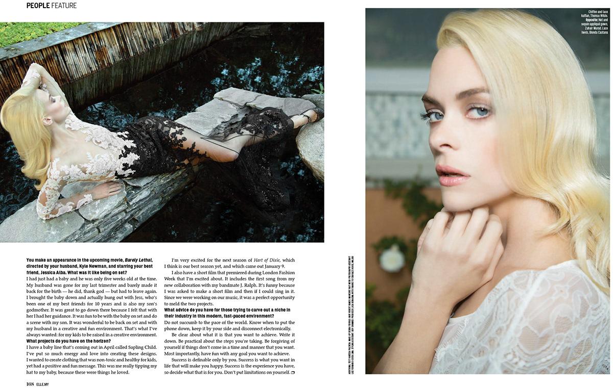 Elle Malaysia Elle Jaime King underworldesign Infinity Agency garjan atwood mofo