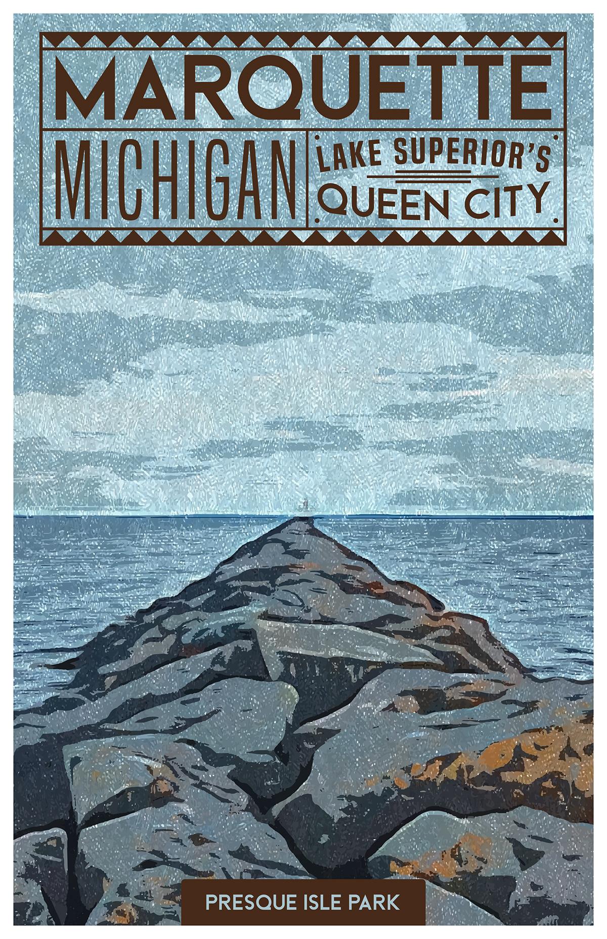 Advertising  art comic art design ephemera ILLUSTRATION  poster tourism typography   Adobe Portfolio