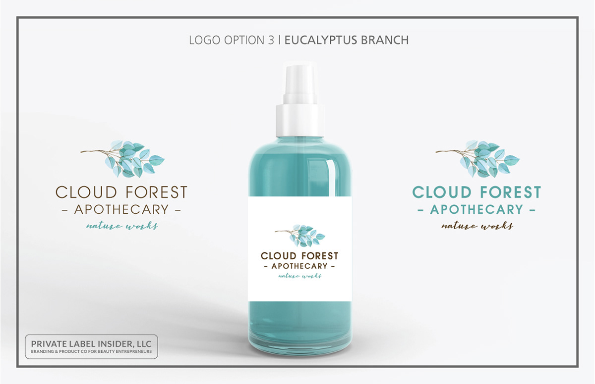 Logo Design & Branding | Cloud Forest Apothecary on Behance