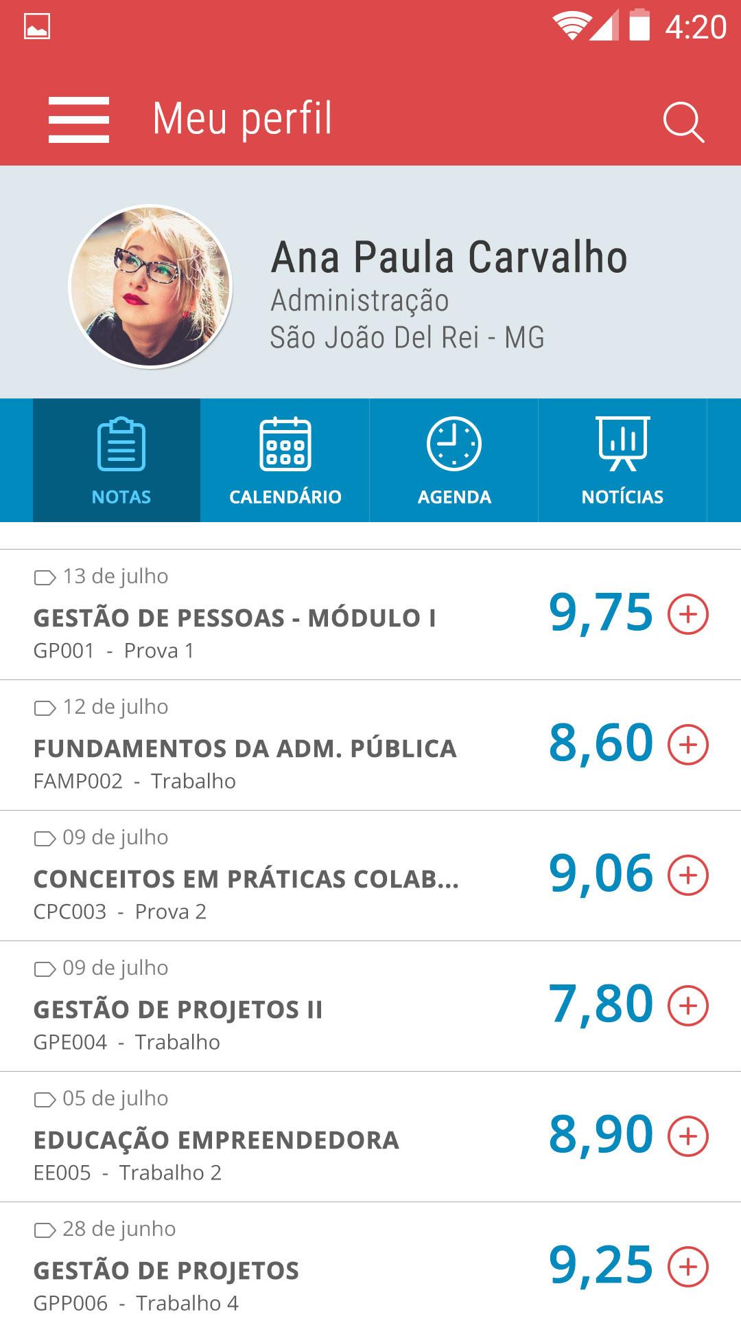 design app school schedule student University