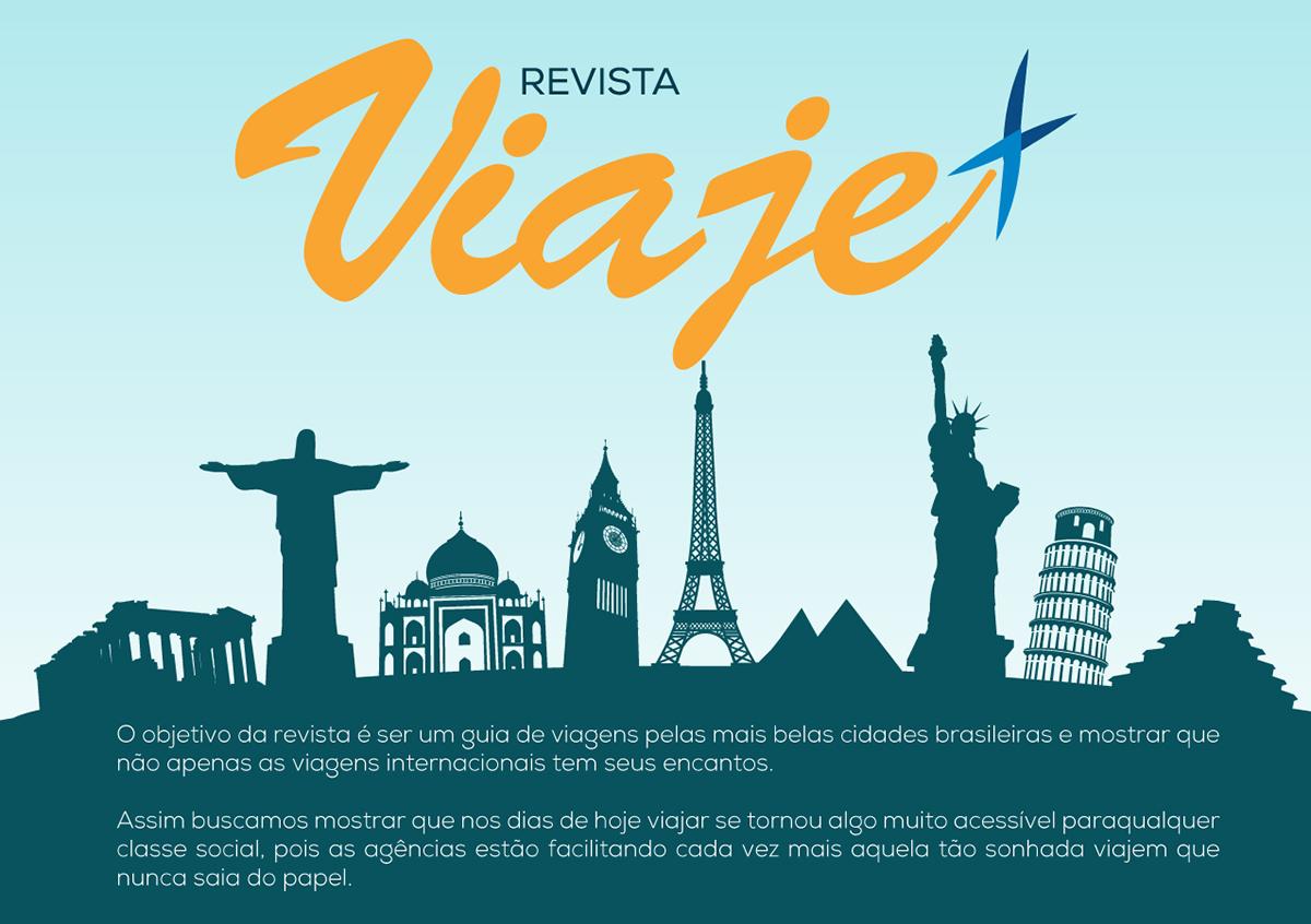 Travel magazine revista viagem