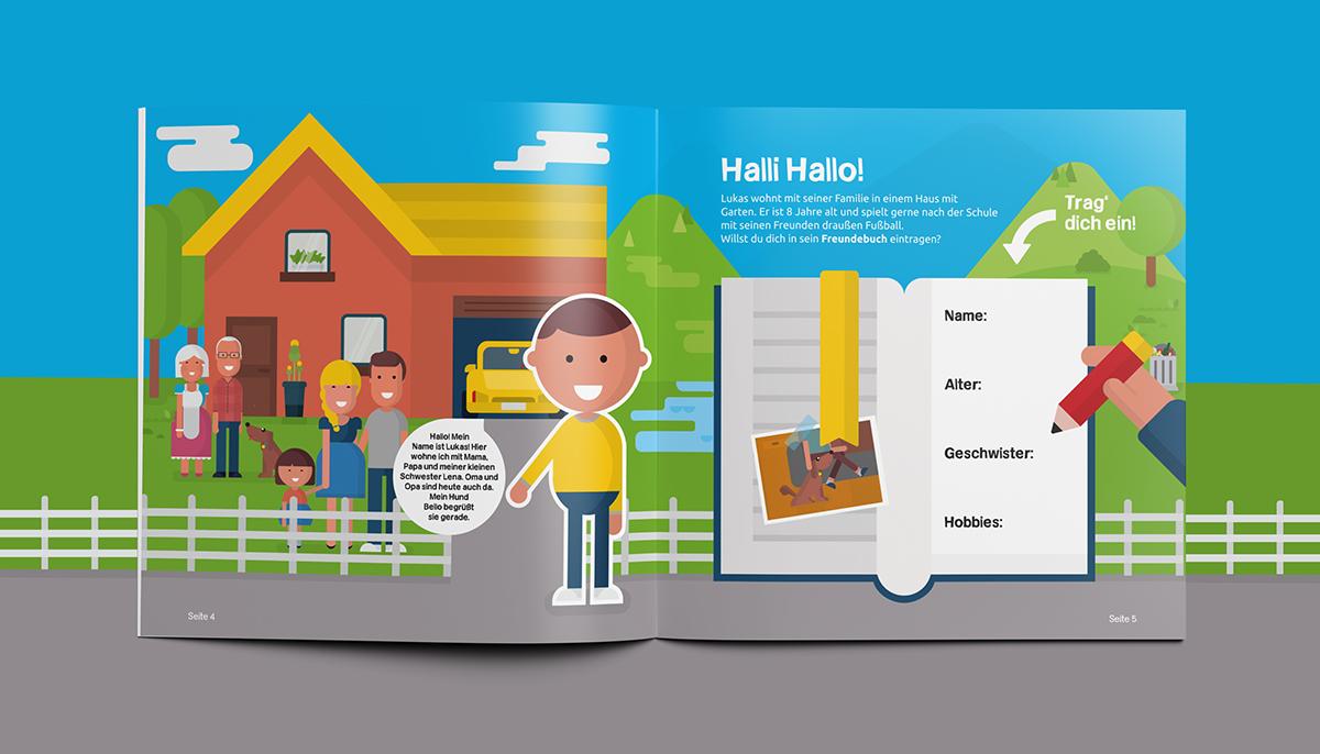Homeland Austria A Children S Book On Behance