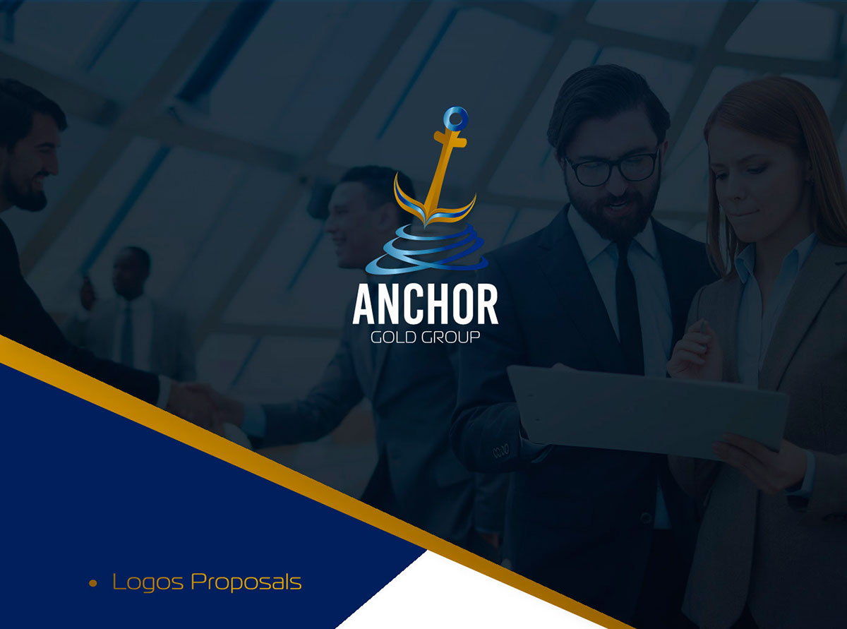 Anchor Gold Group Identity on Student Show